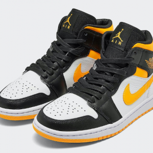 "【2020年7月18日(土) 発売予定】Nike Wmns Air Jordan 1 Mid SE ""Laser Orange"""