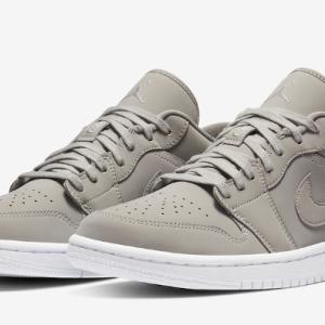 "【2020年 発売予定】Nike Air Jordan 1 Low ""Grey Fog"""