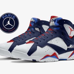 """【2021年5月22日(土) 発売予定】Nike Air Jordan 7 """"PSG"""""""