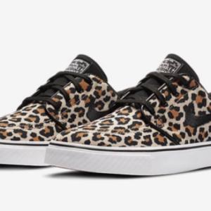 "【2020年10月29日(木)/10月31日(土) 発売予定】Wacko Maria × Nike SB Janoski Canvas OG QS ""Leopard"""