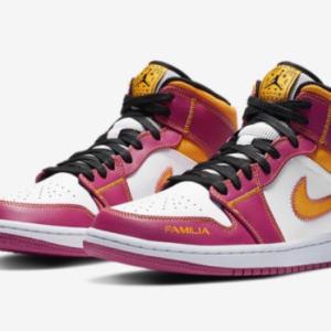 """【2020年10月27日(火) 発売予定】Nike Air Jordan 1 Mid """"Dia de Muertos"""""""