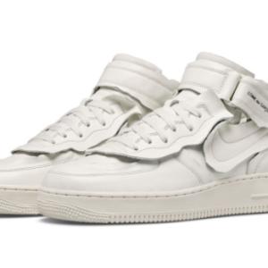 "【2020年10月31日(土) 発売予定】COMME des GARÇONS × Nike Air Force 1 Mid ""White"" & ""Black"""