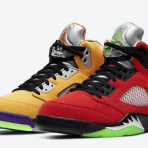 "【2020年11月07日(土) 発売予定】Nike Air Jordan 5 Retro ""What The"""