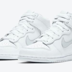 """【2020年11月13日(金) 発売予定】Nike Dunk High """"Pure Platinum"""""""