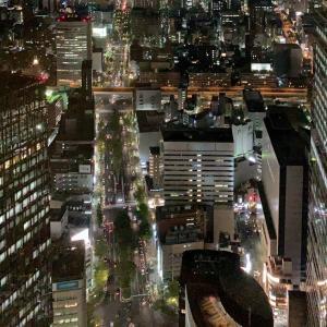 高層階での夜景はデートに最適?