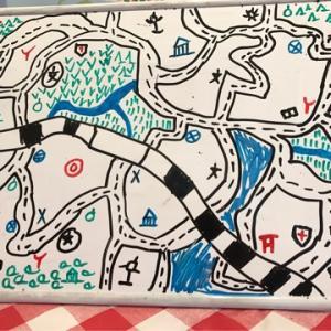 6才が地図記号で町作り