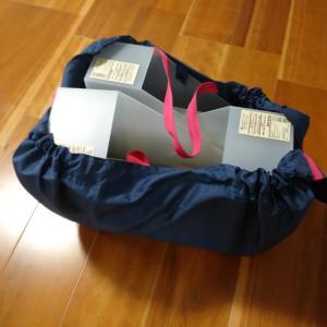無印良品での買い物に、エコバッグ「シュパット」が大活躍!