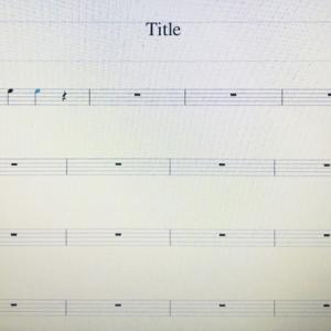 キーボードの鍵盤で弾いた音が楽譜になる魔法?musescore