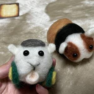 PUIPUI!羊毛フェルト初心者がモルカーチャレンジをしてみた