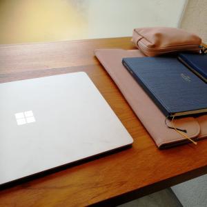 ペンケースよりスマートに付箋や文房具を収納できるケース