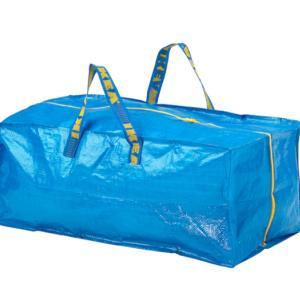 家でも旅行でも使える!IKEAのファスナー付きバッグ
