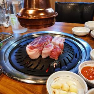 肉典食堂 2度目のソウルで紹介された サムギョプサル のお店