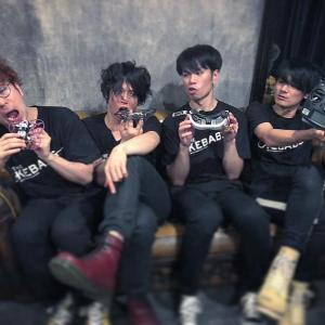 【THE KEBABS】ライブアルバムをリリース&MV公開