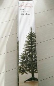 クリスマスツリーとコーヒーの木