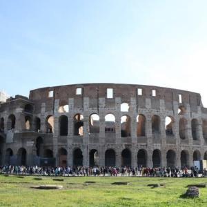 ローマ コロッセオ、フォロ・ロマーノ、パラティーノの丘 初1人海外旅行2日目 イタリア(ローマ・ヴェネツィア)旅行 6泊8日