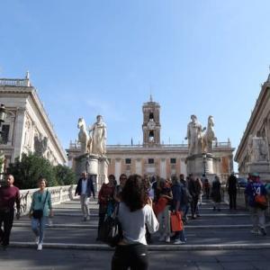 ローマ カピトリー二美術館、真実の口、トラステヴェレ、チルコマッシモ 2日目 イタリア(ローマ・ヴェネツィア)旅行 6泊8日