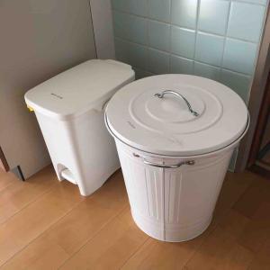 ゴミの種類は多いけど、ゴミ箱は2種類に