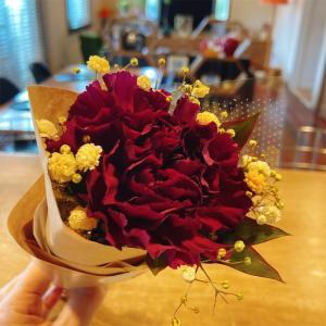 学校行事とお花の定期便