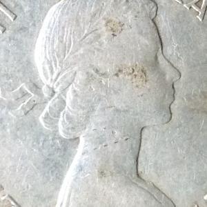 カナダ エリザベス2世 50セント銀貨 1963年