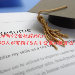 仕事のミスが多くて会社辞めたい【毎年300人が実践する大手企業の教育法で解決!】
