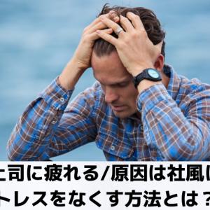 細かい上司に疲れる 原因は社風にあり!ストレスをなくす方法とは?!