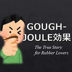 Gough-Joule効果について -ゴムを唇に当ててみると?-