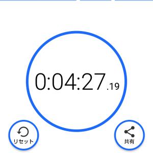 1000m走のタイム