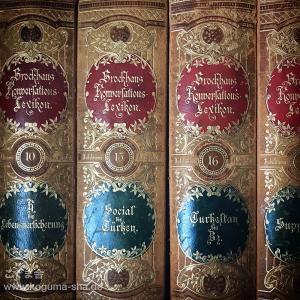 1898年発行のアンティーク図鑑が入りました。