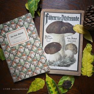 ドイツの古いきのこ本を2冊オンラインショップにアップしました。