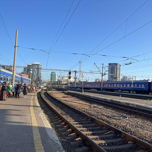 ウクライナ オデッサ4日目 夜行列車で移動