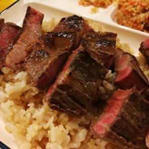 ガーリックライスと低温調理ステーキ レシピ