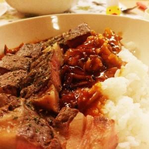 低温調理した牛肉を使った!ビーフストロガノフのレシピ
