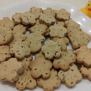 グルテンフリー!ごま香る米粉クッキーのレシピ