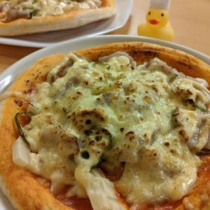 業務スーパーのピザクラストで簡単マヨじゃがピザのレシピ