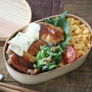 簡単おかずの鶏の照り焼きハニーマヨソース弁当レシピ!詰め方もあわせて紹介