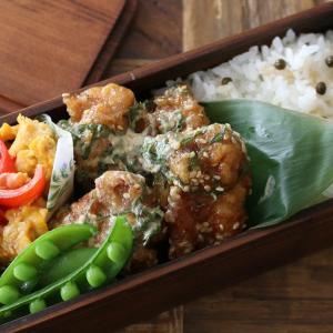 簡単で美味しい!鶏のマヨポンシソソース弁当レシピ!詰め方もあわせて紹介