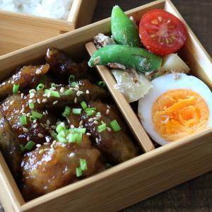 鶏もも肉で簡単鶏ごぼうの甘酢炒め弁当!詰め方もあわせて紹介