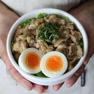 忙しい朝にはコレ!麺つゆで作るかんたん豚丼弁当
