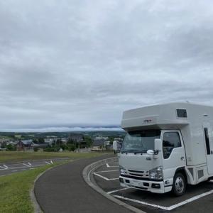 北海道8日目・・美瑛の車中泊スポット 上富良野〜美瑛町