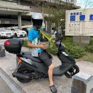 バイクデビュー・・