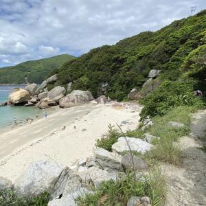 高知県柏島の海は絶景/海水浴ができる白浜海岸へGO~