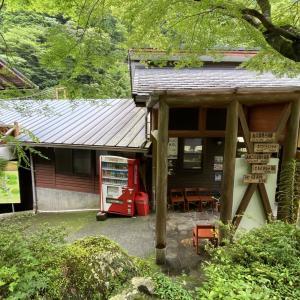 高知県仁淀川町の安居渓谷には隠れたキャンプ場があります