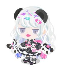今日のピグファッション☆彡