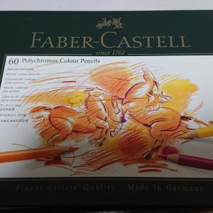 新しい色鉛筆と色鉛筆ワークブック①