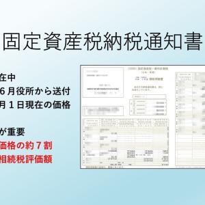 納税通知書(課税明細書)と相続税