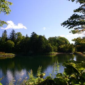 太郎湖。阿寒湖のすぐ隣にひっそりと佇む秘湖