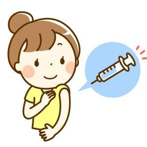 ワクチン接種2回終了したらこうなった。