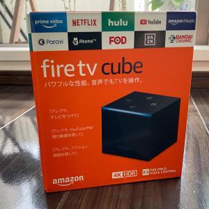 Amazon Fire TV Cubeの使い方とFire TV Stickとの比較レビュー。