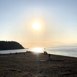 江の島 初詣。健康を 祈って!
