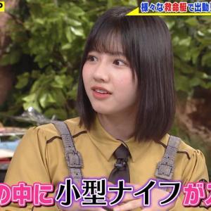 【日向坂46】渡邉美穂『世界まる見え!テレビ特捜部』 2019.11.18